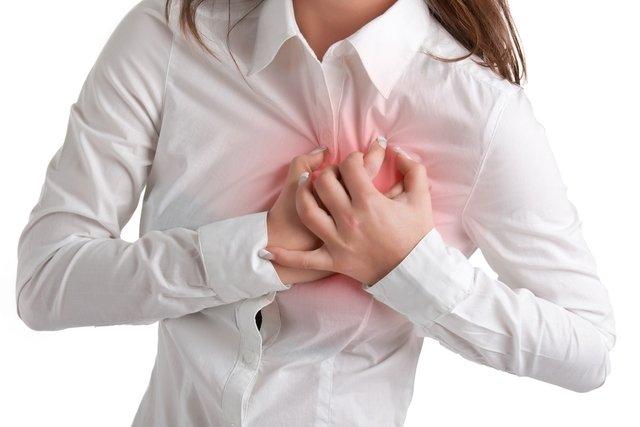 Dor no peito pode ser causada por ansiedade