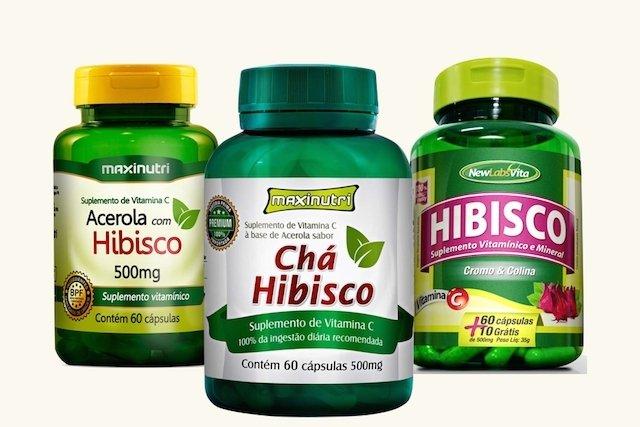 Como tomar Hibisco em cápsulas para emagrecer