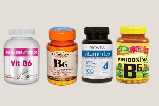 Suplemento de Vitamina B6