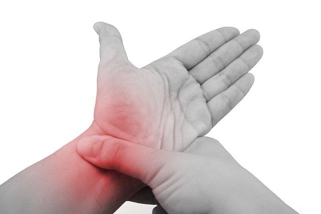 8 causas comuns de Dor no punho