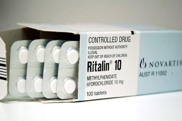 Metilfenidato perdida de peso