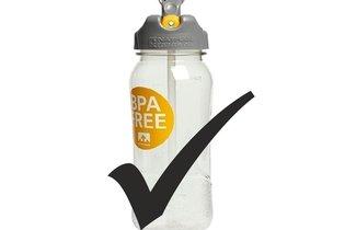Exemplo de garrafa sem BPA