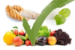 Alimentos prevenidos na dieta