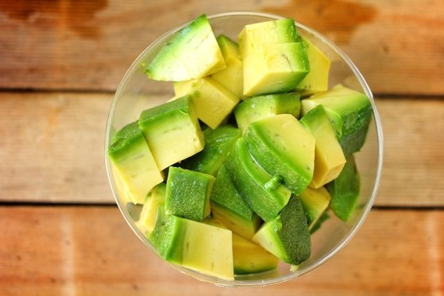 Vitamina de abacate para ter a pele macia