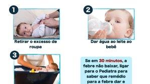 Cómo bajar la fiebre en niños