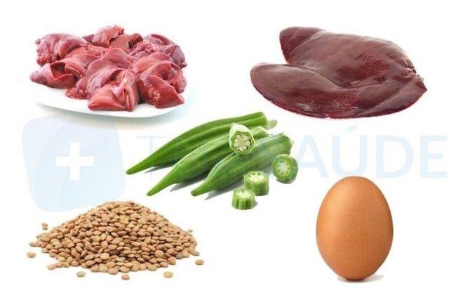 alimentos contra la anemia en el embarazo