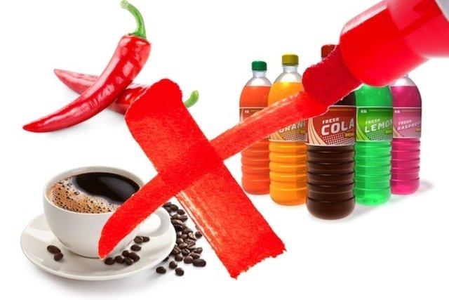 Alimentos que prejudicam as hemorroidas