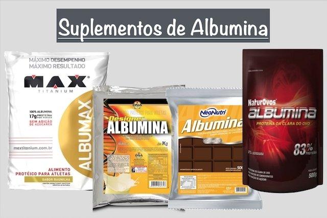 Como tomar albumina