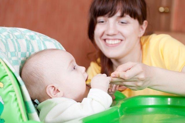 Receitas de papinhas para bebês de 7 meses