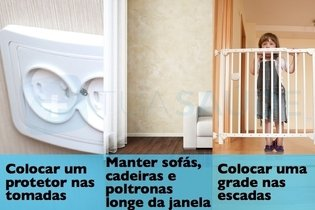 Dicas de segurança para proteger seu filho em casa