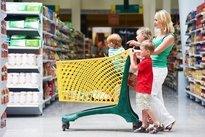Fazer compras com os filhos