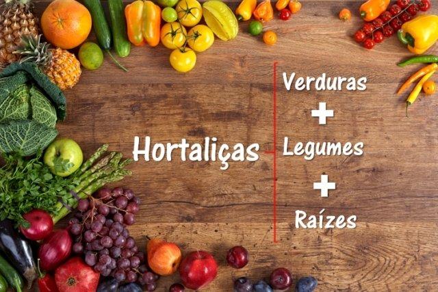 Como saber se é Legume ou Verdura