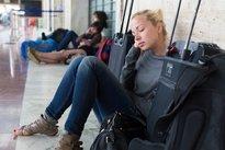 Observar tranquilidade dos outros passageiros