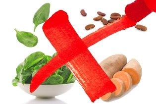 Alimentos a evitar na osteoporose