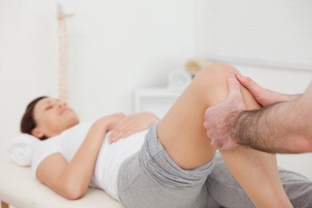 fisioterapia para distensão muscular