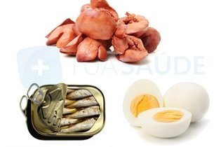 Outros alimentos ricos em vitamina D
