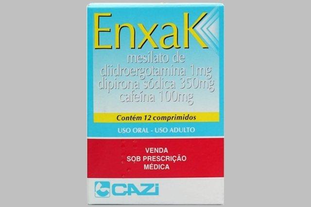 Enxak - Remédio para a Enxaqueca