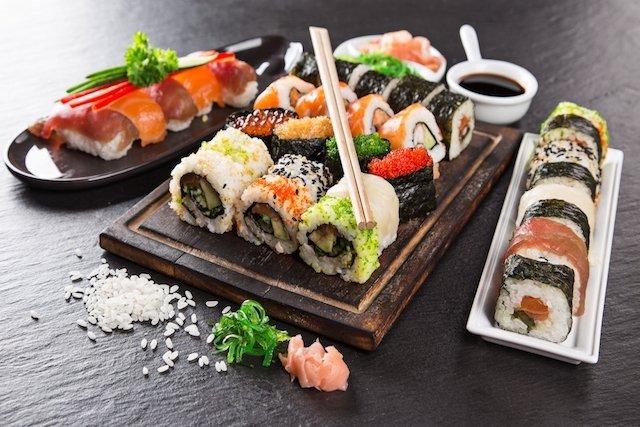 4 Ótimos motivos para comer Sushi