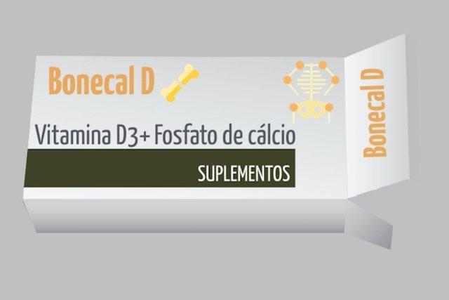 Bonecal D para tratar a Osteoporose