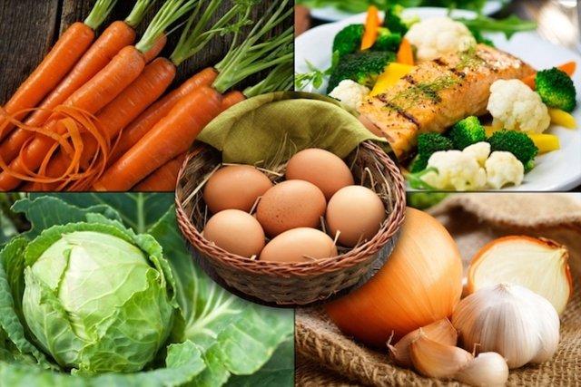 5 Alimentos que protegem os Olhos