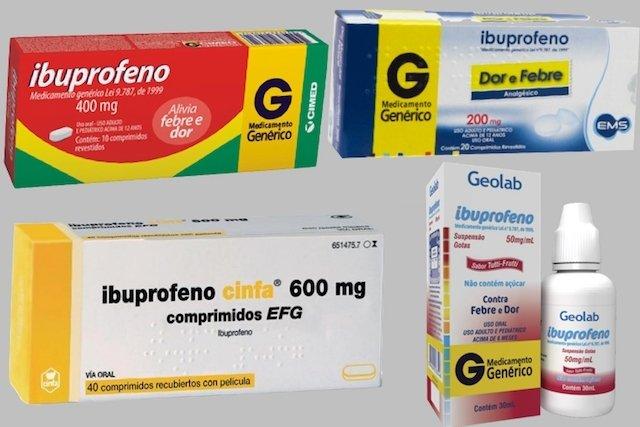 Ibuprofeno para Aliviar a Dor e a Febre