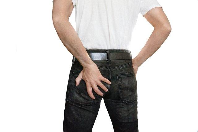Perna traseira dor muscular da na parte