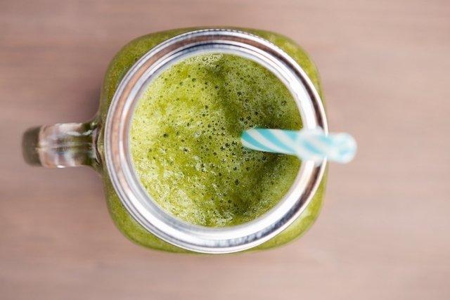 Suco de brócolis para evitar a exaustão