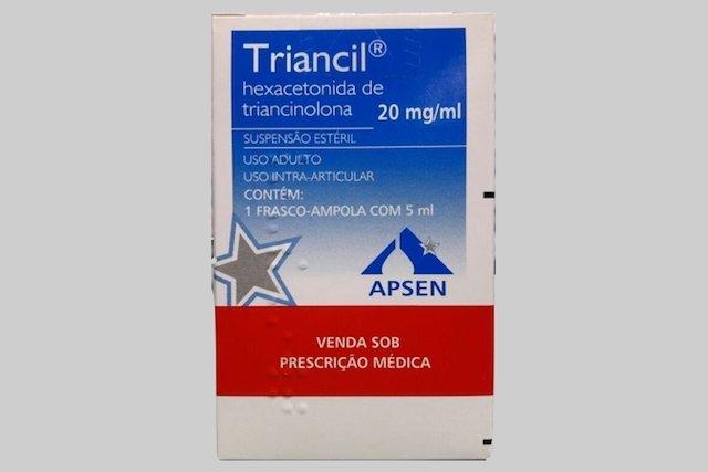 Triancil - Remédio corticóide com ação anti-inflamatória