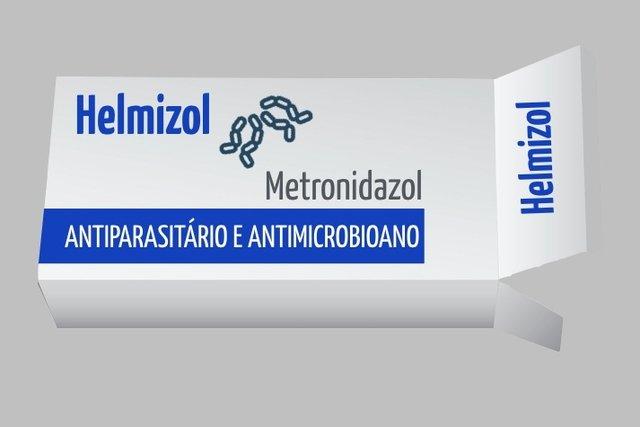 Helmizol - Remédio para acabar com Vermes e Parasitas