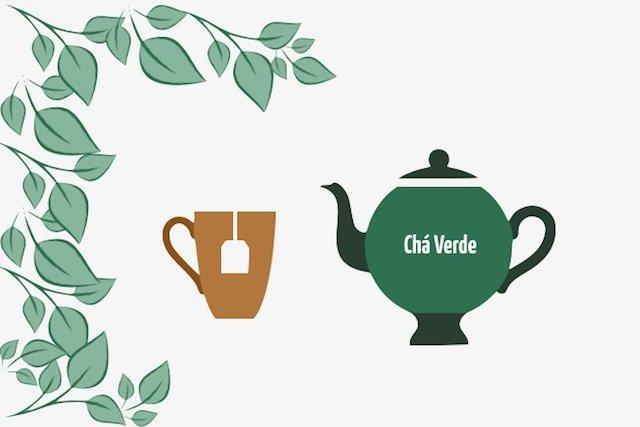 Tônico para a pele de chá verde