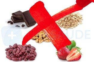 Alimentos proibidos na fase 1