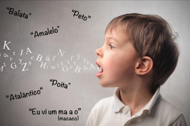 O que fazer quando a criança troca o R pelo L ao falar