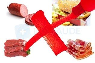 Alimentos que se deve evitar