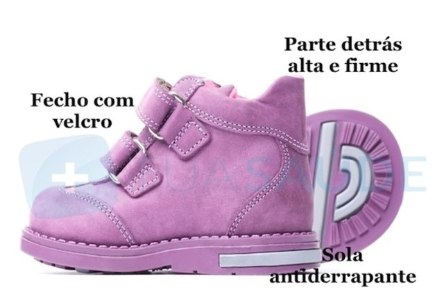 Sapato ideal para bebê