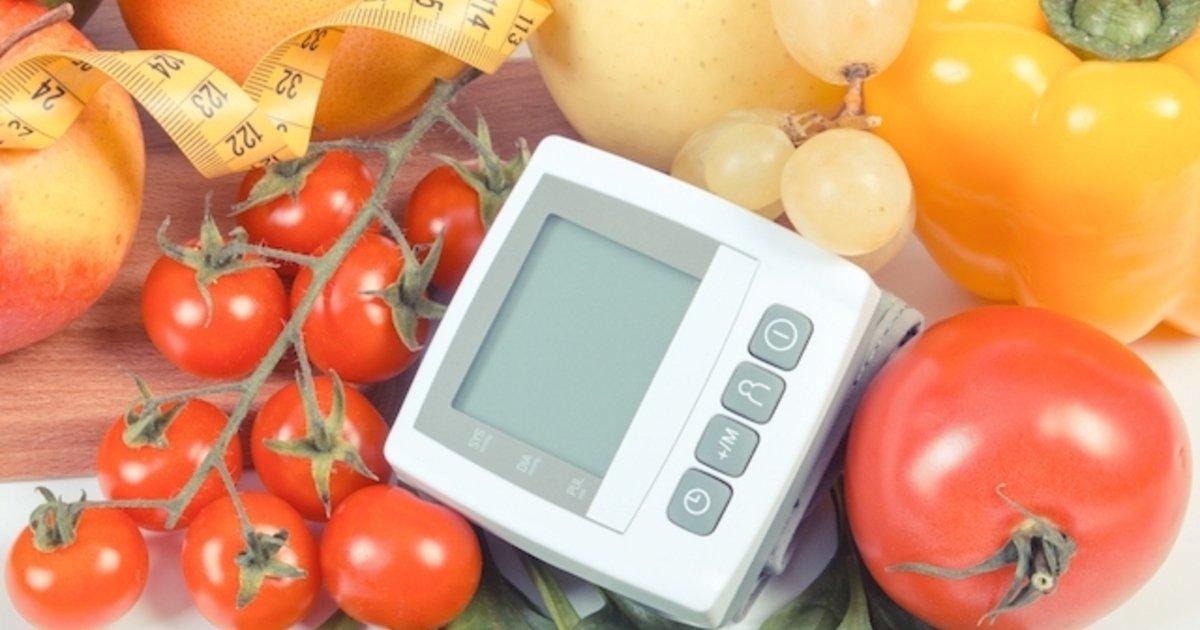 dieta para reducir la presión arterial rápidamente