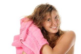 Secar os cabelos naturalmente
