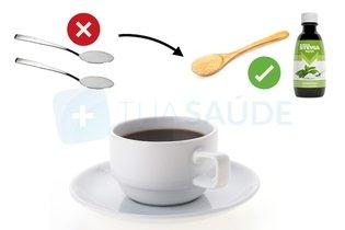 Cambiar el azúcar por estevia