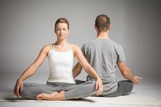 Posição para meditação