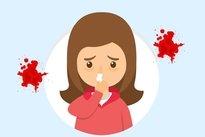 Tos y sangre al escupir