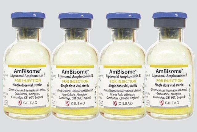Ambisome - Antifúngico Injetável