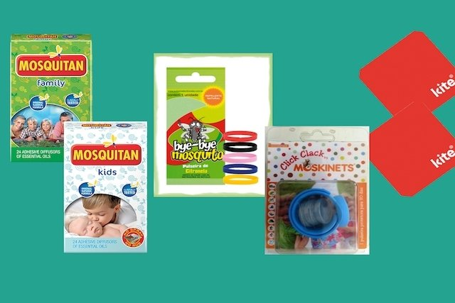 Repelente para bebês e crianças