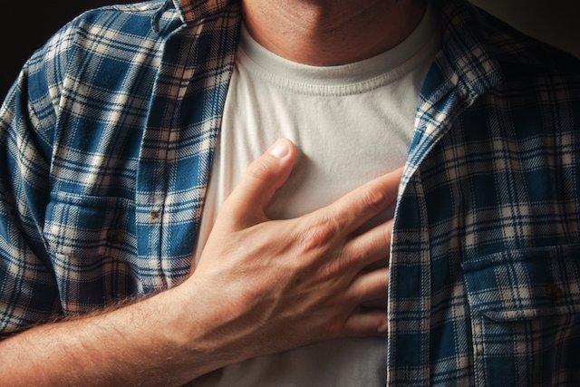 O que pode ser a dor no peito