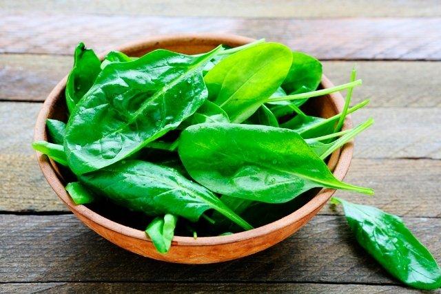 Como comer Espinafre no combate a Depressão
