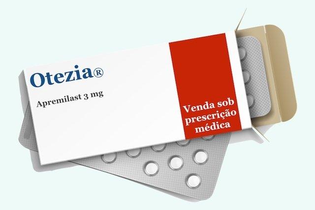 Otezia: remédio para psoríase em placas