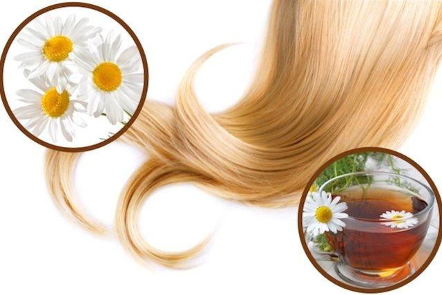 Como usar camomila para clarear o cabelo