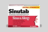 qual medicamento tomar para sinusite