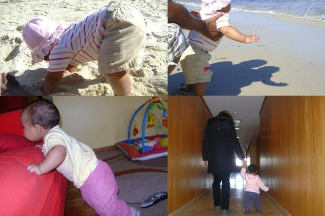 Como ensinar o bebê a Andar mais rápido