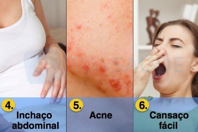 10 primeiros sintomas de gravidez