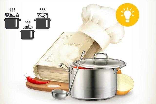 Usar a criatividade para variar as receitas e o modo de preparo dos alimentos