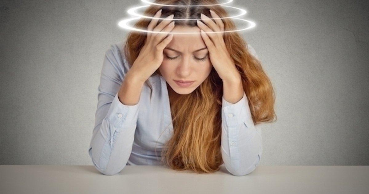 sensacion de mareo y malestar en la cabeza